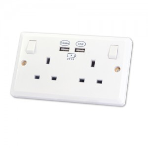 Twin USB Charging Socket